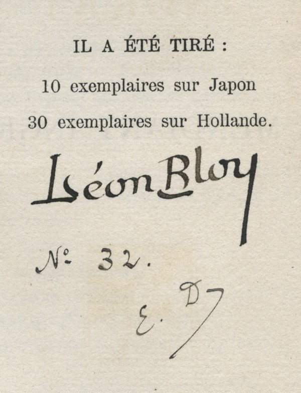 BLOY (Léon)