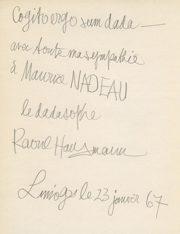 HAUSMANN (Raoul)