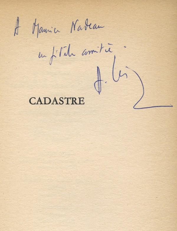CÉSAIRE (Aimé)