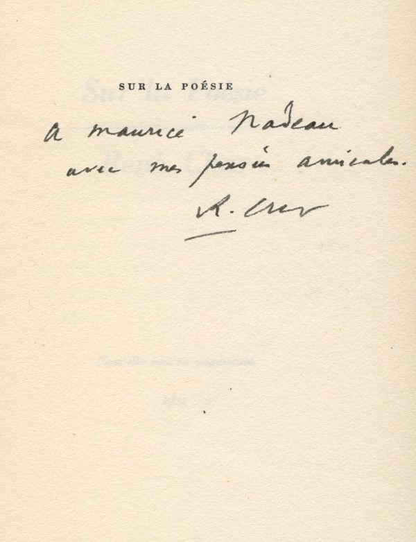 CHAR (René)