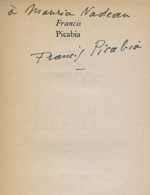 PICABIA (Francis)