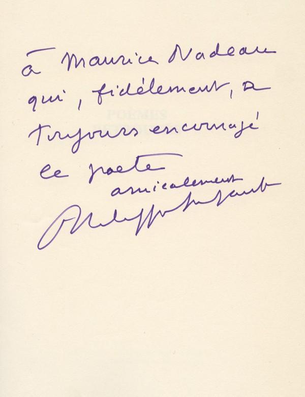 SOUPAULT (Michel)