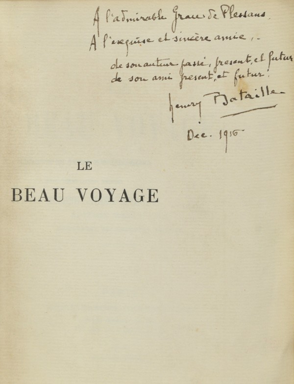 BATAILLE (Henry)
