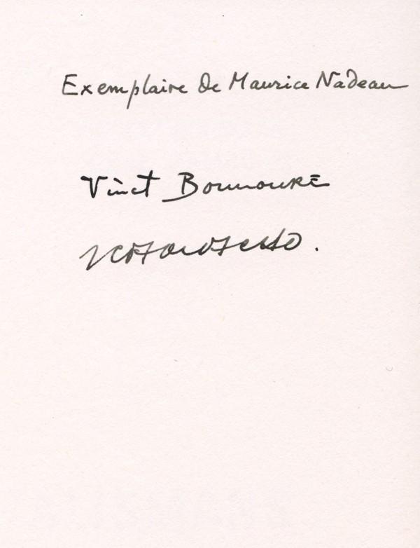 BOUNOURE (Vincent) & CAMACHO (Jorge)