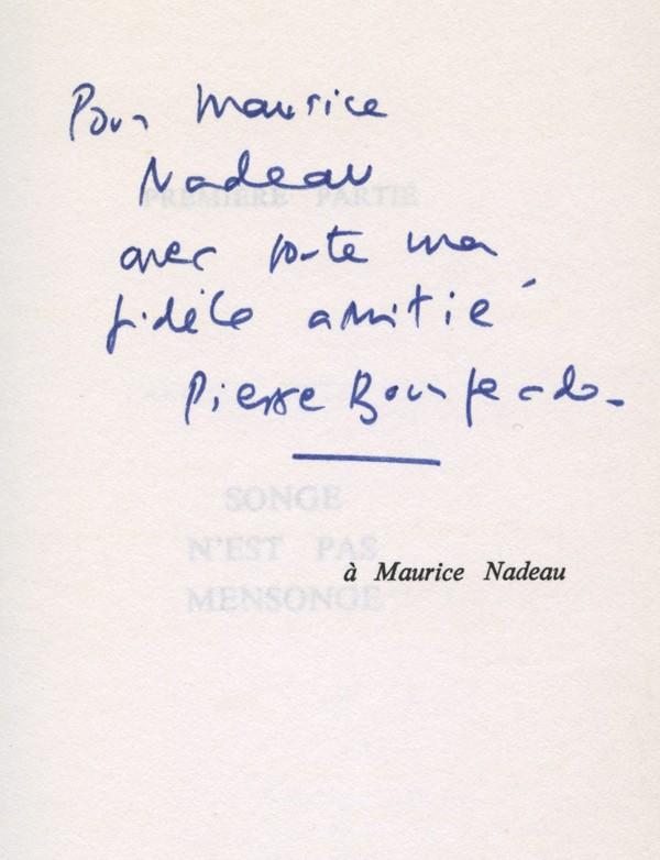 BOURGEADE (Pierre)