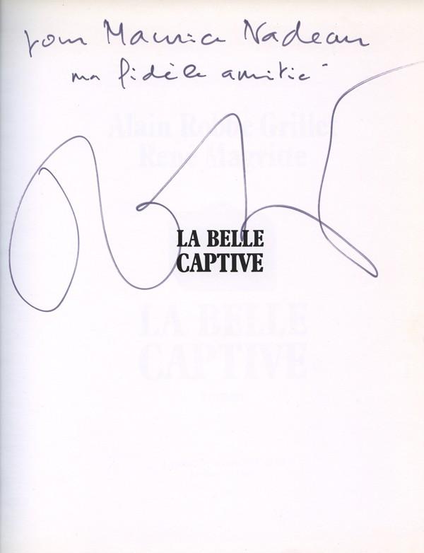 ROBBE-GRILLET (Alain) & MAGRITTE (René)