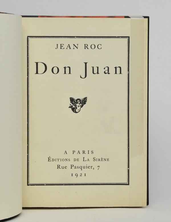 [ROCHÉ (Henri-Pierre)] ROC (Jean)