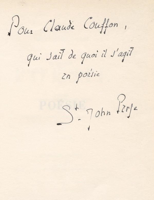 SAINT-JOHN PERSE
