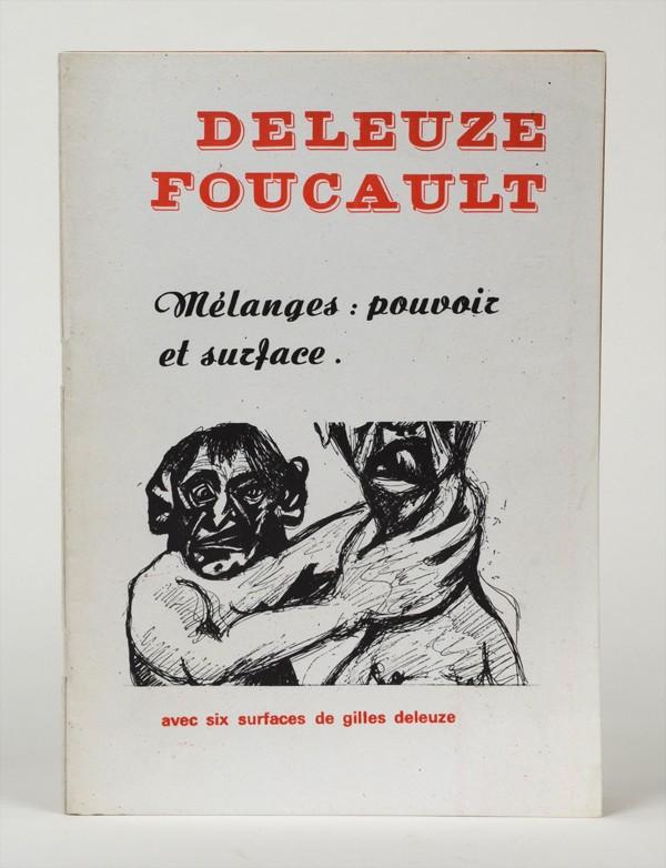 DELEUZE (Gilles) & FOUCAULT (Michel)
