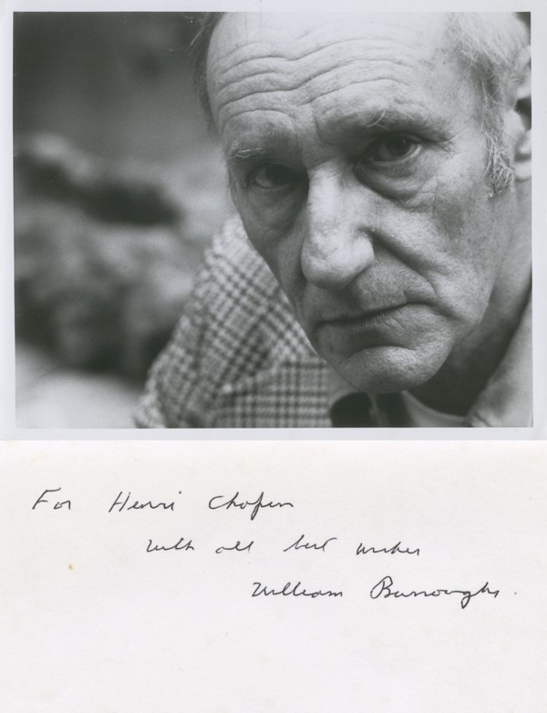 [BURROUGHS (William)] GRAUERHOLZ (James)