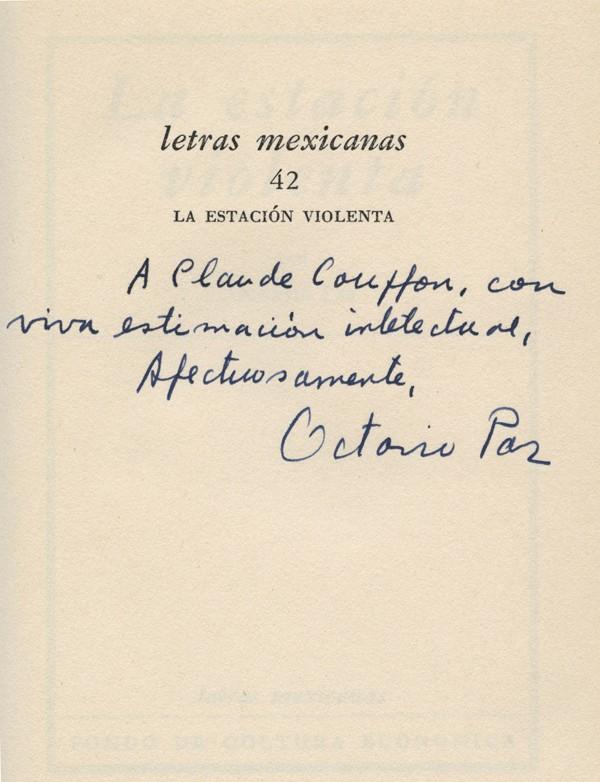 PAZ (Octavio)