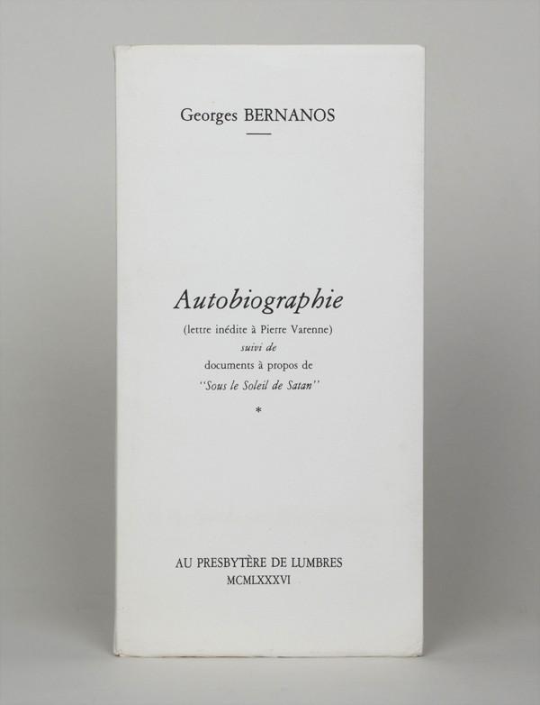 BERNANOS (Georges)