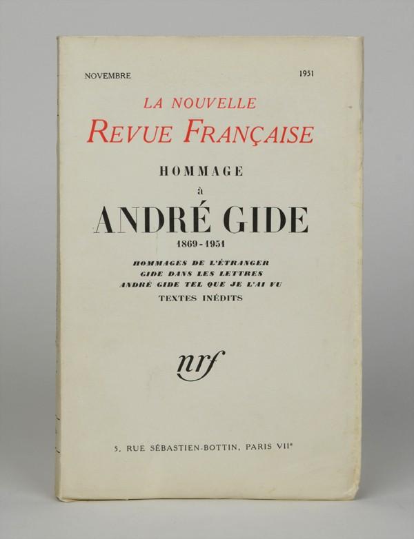 [GIDE (André)]