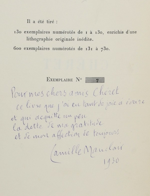 MAUCLAIR (Camille)