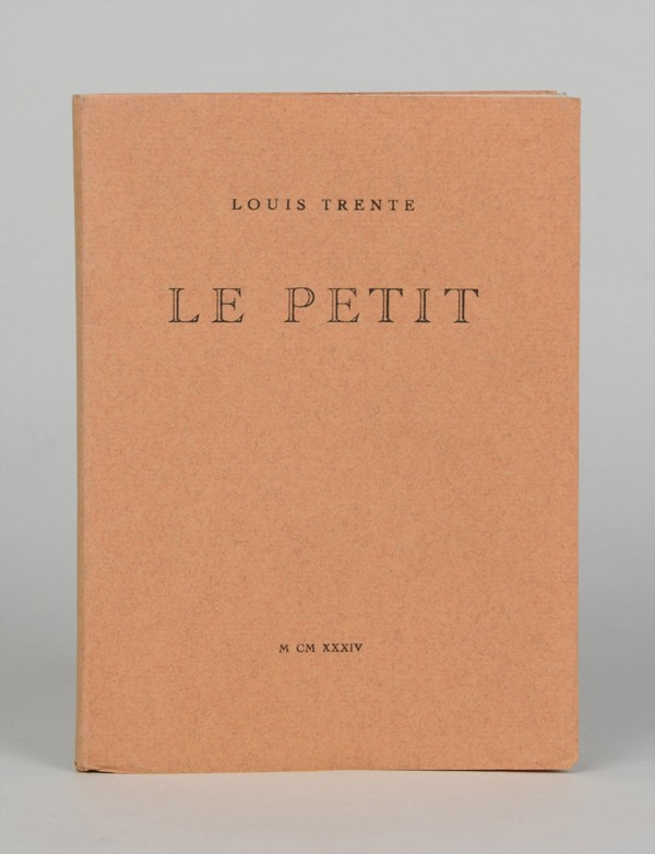 [BATAILLE (Georges)] TRENTE (Louis)
