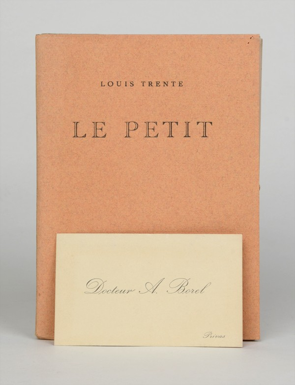 [BATAILLE (Georges)] TRENTE (Louis)