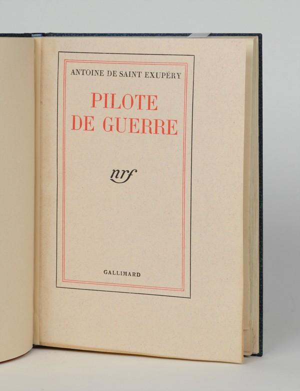 SAINT-EXUPÉRY (Antoine, de)