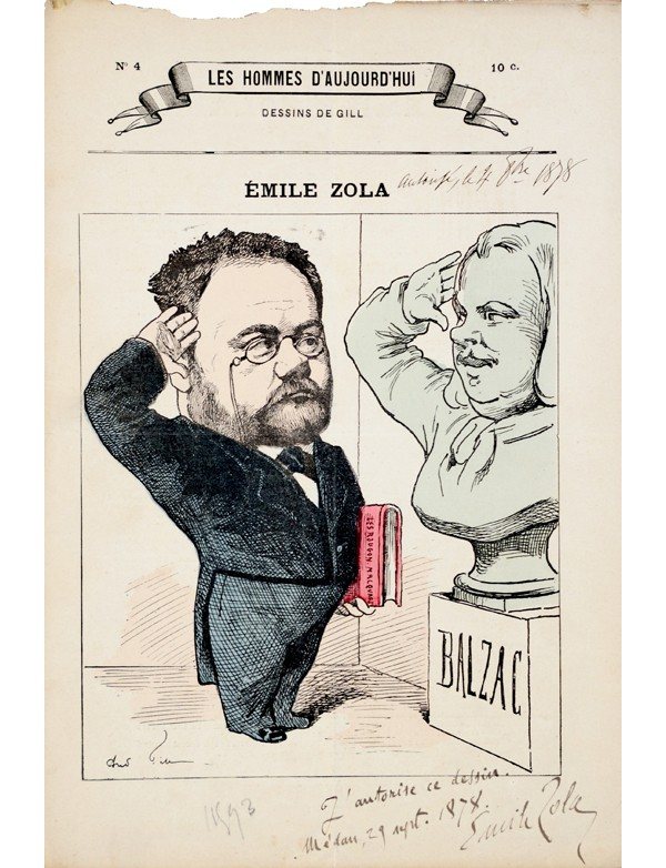 [ZOLA (Émile)] GILL (André)