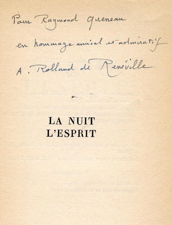 ROLLAND DE RENÉVILLE (André)