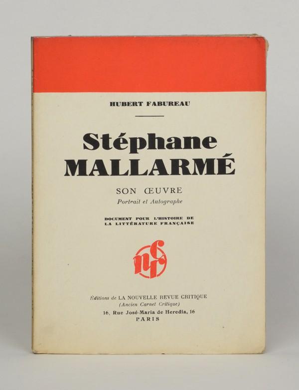 [MALLARMÉ (Stéphane)] FABUREAU (Hubert)