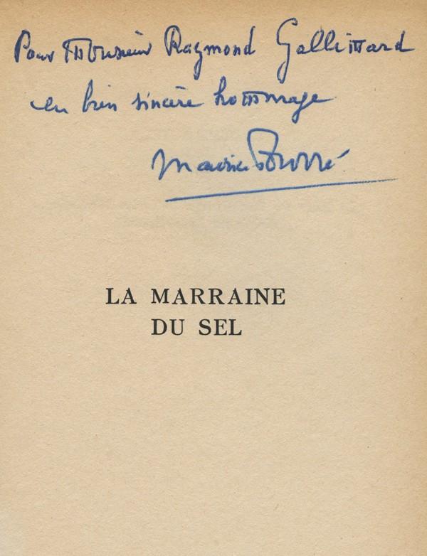 FOURRÉ (Maurice)