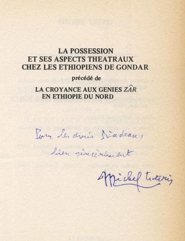LEIRIS (Michel)