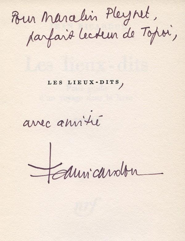 RICARDOU (Jean)