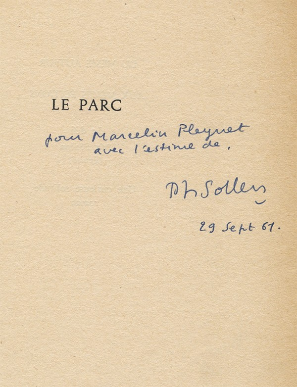 SOLLERS (Philippe)