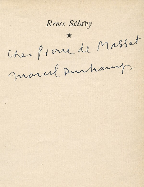 DUCHAMP (Marcel)
