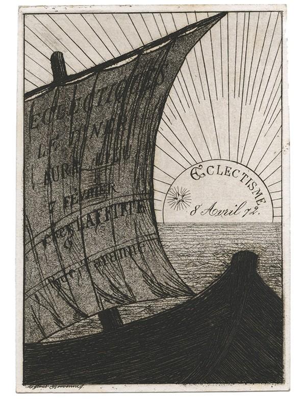Invitations au diners des éclectiques 1872 1876
