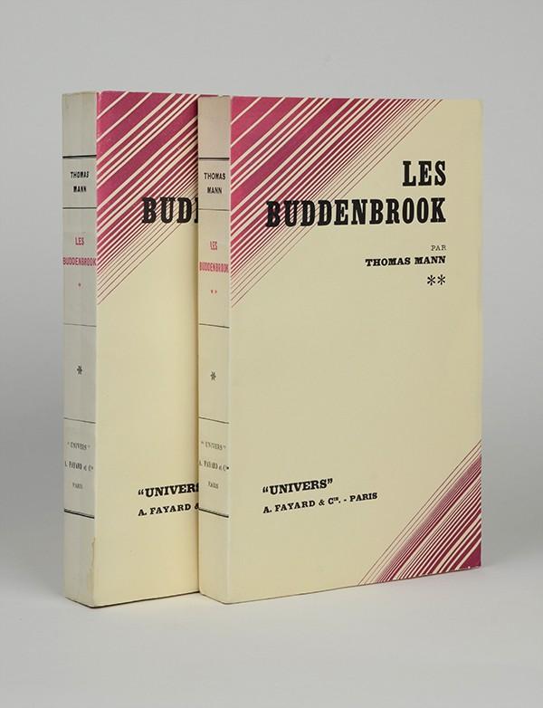 MANN (Thomas) Les Buddenbrook Fayard 1932