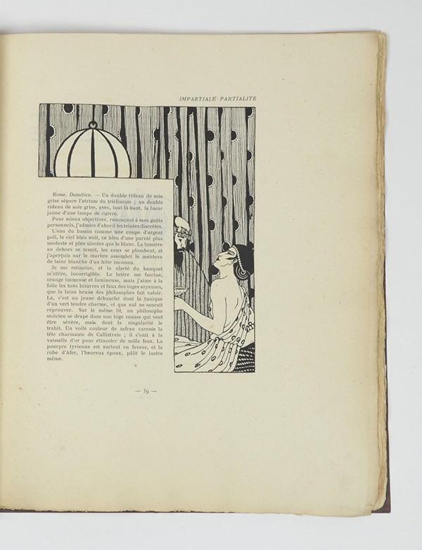 CAHUN (Claude) Vues et visions Georges Crès & Cie 1919