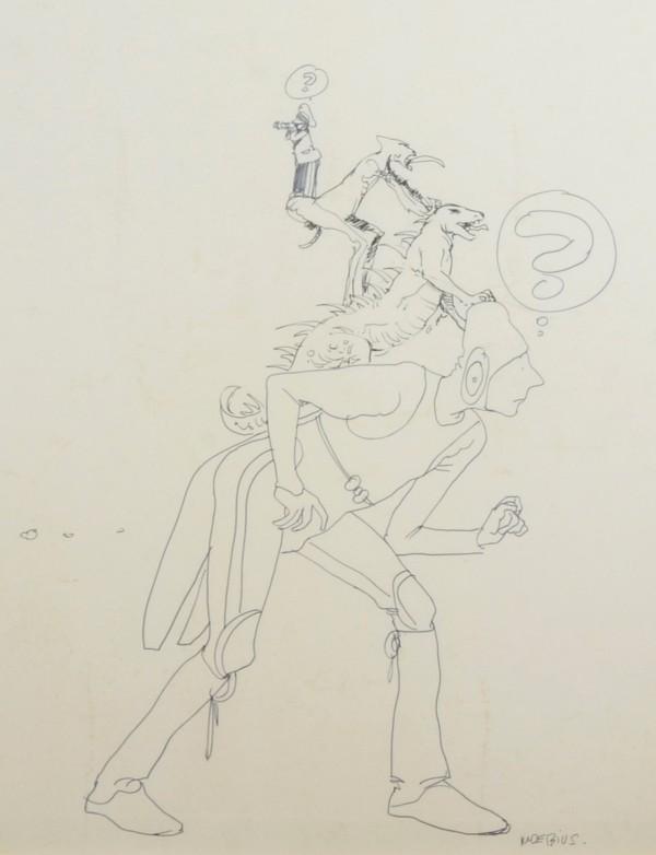 MOEBIUS, TARDI (Jean) & DRUILLET (Philippe)