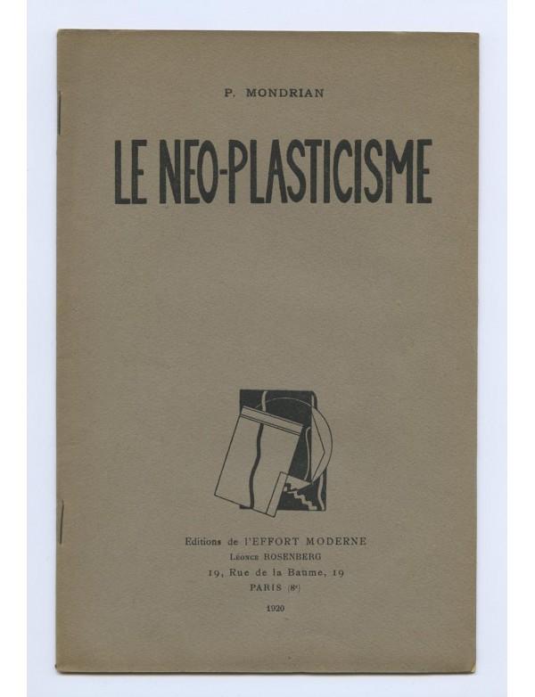 MONDRIAN (Piet) Le Néo-Plasticisme l'Effort Moderne 1920