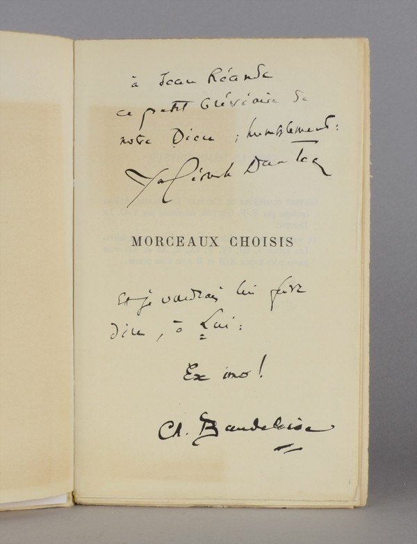 BAUDELAIRE (Charles)
