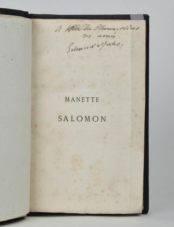 GONCOURT (Edmond et Jules, de)