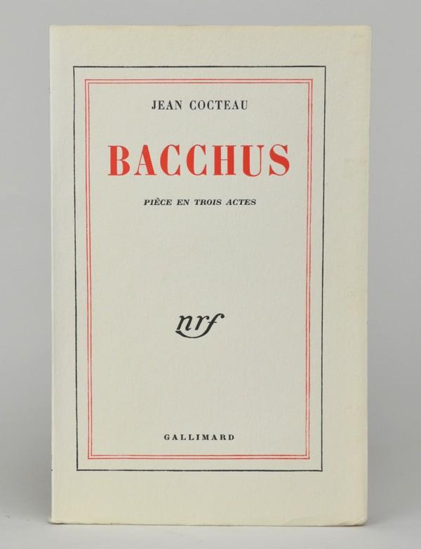 COCTEAU (Jean) Bacchus EO sur pur fil