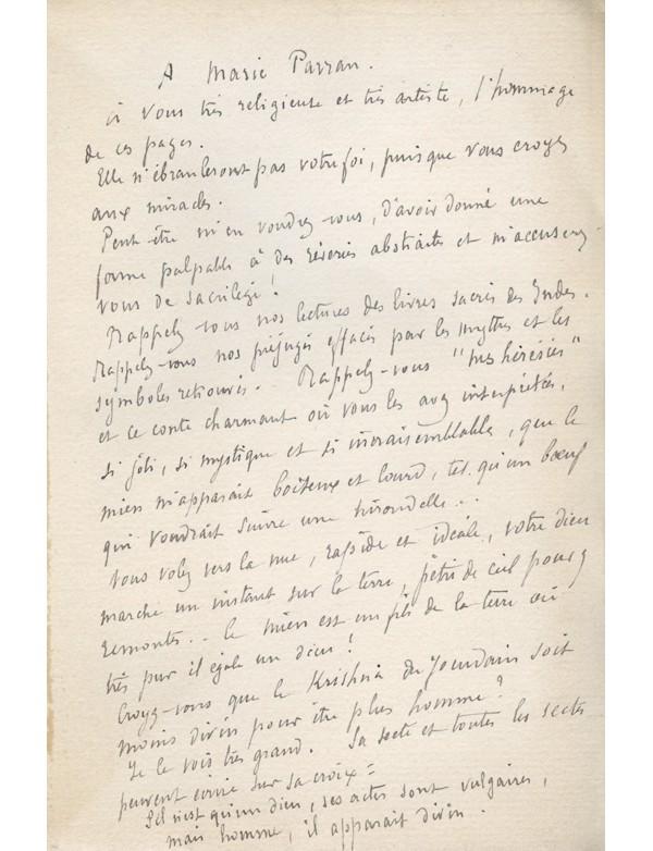[SCHWOB (Marcel)] NAHOR (Pierre) pseudonyme d'Émilie Lerou de la Comédie-Française