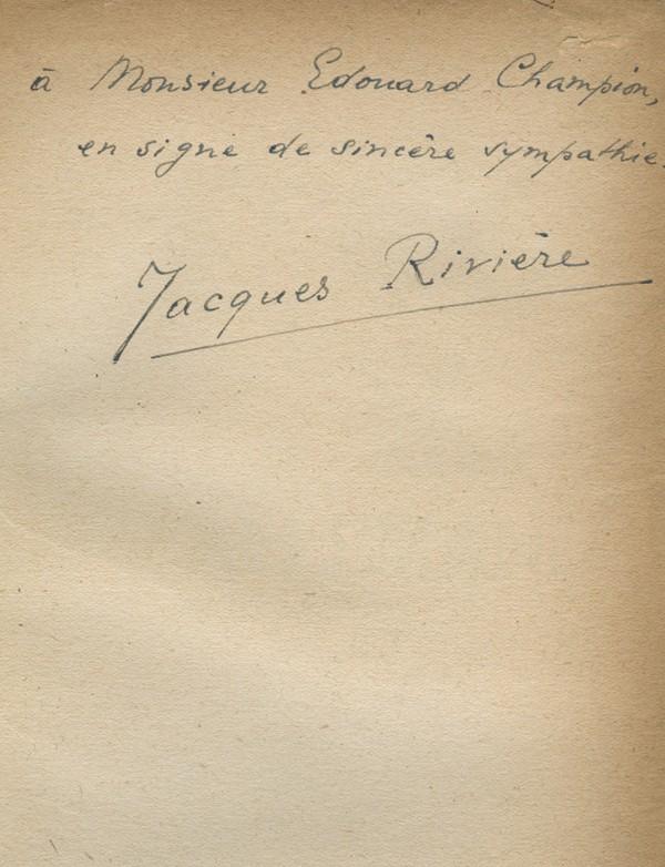 RIVIERE (Jacques)