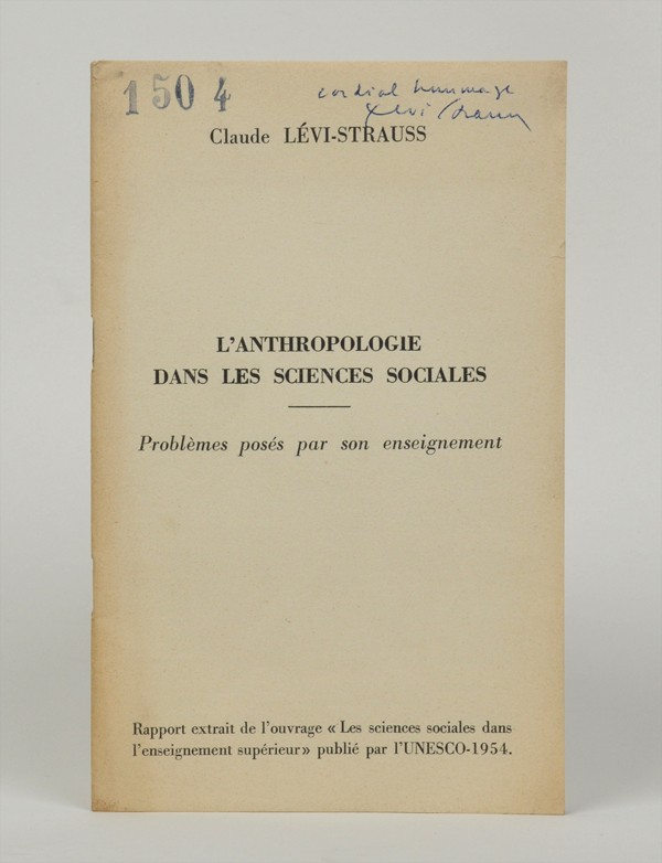 LEVI-STRAUSS (Claude)