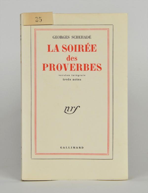 SCHEHADÉ (Georges)